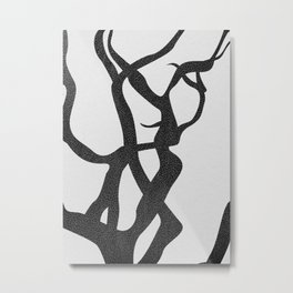 abstract-tree branch 2 Metal Print