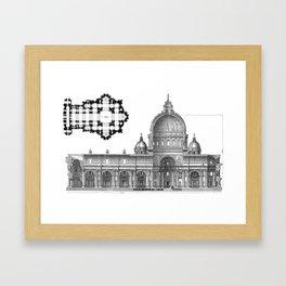 St. Peter Basilica - Rome, Italy Framed Art Print