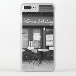 French Bakery Clear iPhone Case