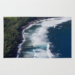Waipio Valley Beach Rug