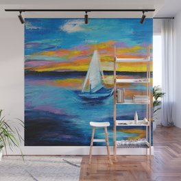 Sailing Away Wall Mural