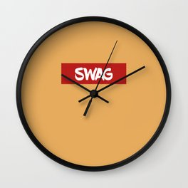 SWAG | Digital Art Wall Clock