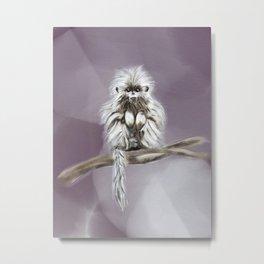 Monty the Monkey Metal Print