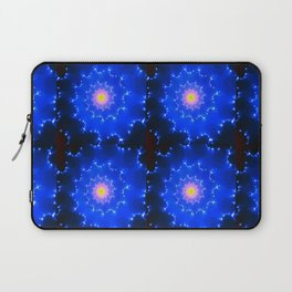 Mosaic in Blue Laptop Sleeve