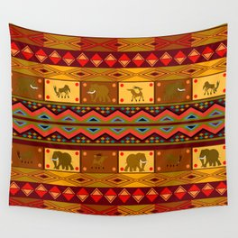 Ethnic pattern Wall Tapestry