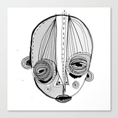 'Face II' Canvas Print