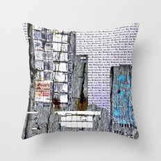 Cityscape six Throw Pillow