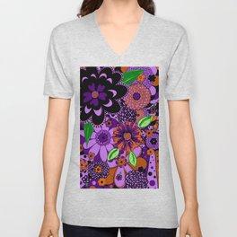 Flowers To Go Unisex V-Neck