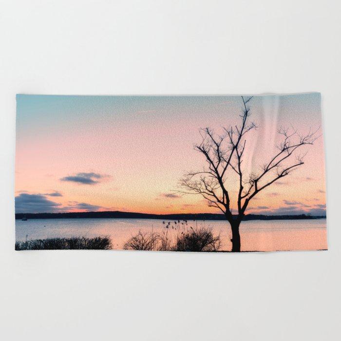 Pastel Sky Beach Towel