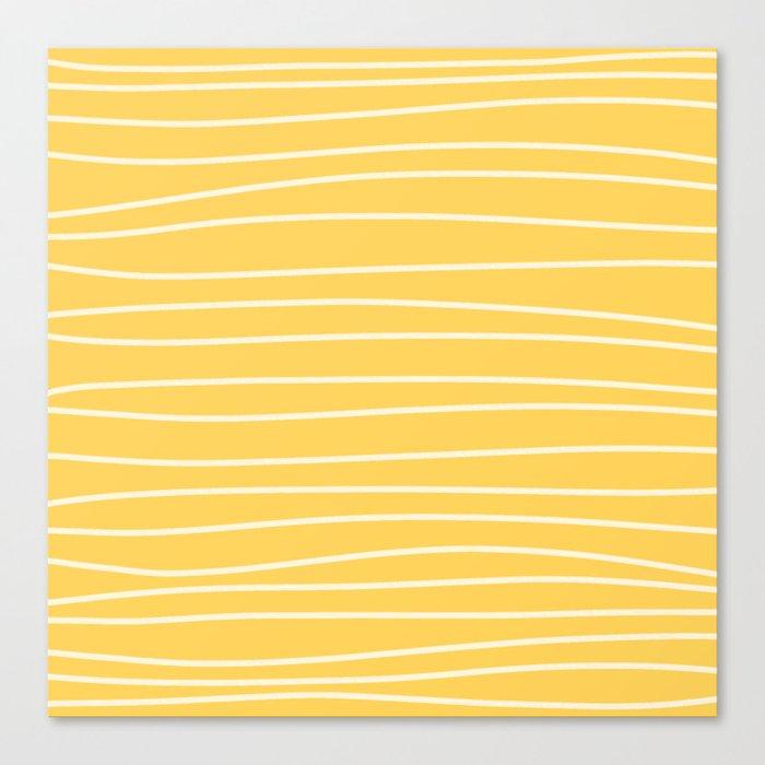 Sunshine Brush Lines Leinwanddruck