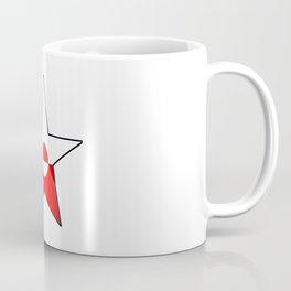 Flag of greenland 4-greenlandic,kalallit,inuit,thule,nuuk,tupilak. Coffee Mug