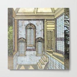BATH HOUSE Metal Print