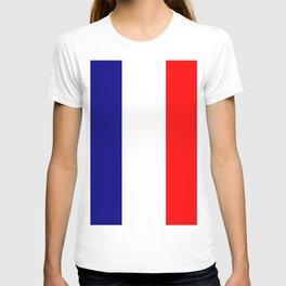 flag of france 4 T-shirt