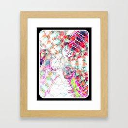 Girl tar Framed Art Print
