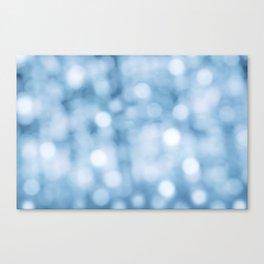 unfocused blue Canvas Print