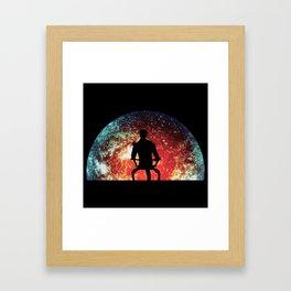 Illusive man ( Mass Effect ) Framed Art Print