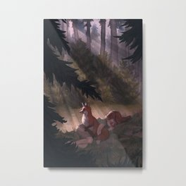 Lost & Found Metal Print