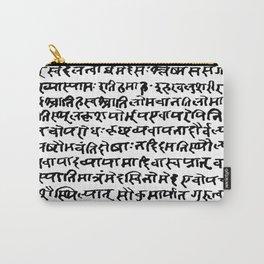 Sanskrit Carry-All Pouch