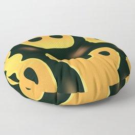 Pastel Ball Python Floor Pillow