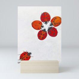 Ladybug meeting Mini Art Print