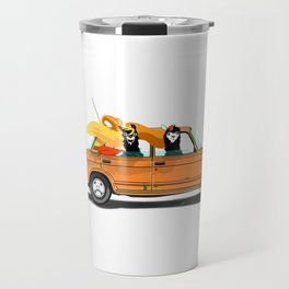 Llama on a Lada Travel Mug