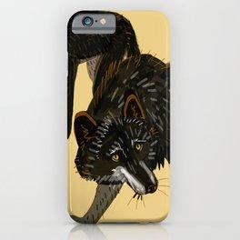 Black wolf totem (nubilus) iPhone Case