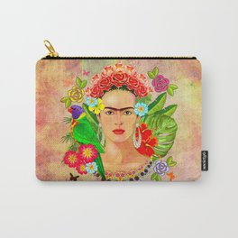Frida Kahlo painting Carry-All Pouch