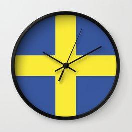 verona city flag Wall Clock