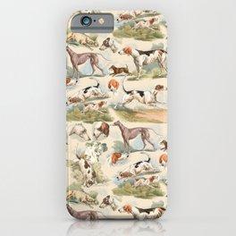 Hounds - Champagne ecru iPhone Case