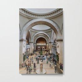 The Metropolitan Museum of Art 2019 vertical version Metal Print