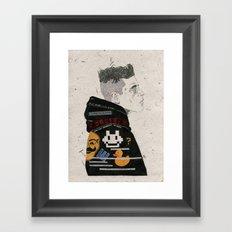 F Society. Framed Art Print