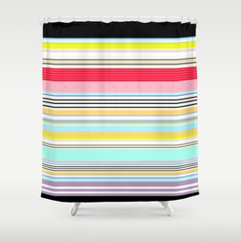 Delicious Rainbow Shower Curtain