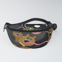 Cerberus loves candies! Fanny Pack