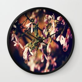 After the Rainstorm Wall Clock