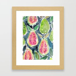 Guavas Framed Art Print