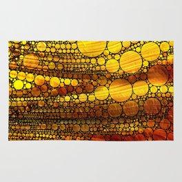 Golden Sun Strata Rug