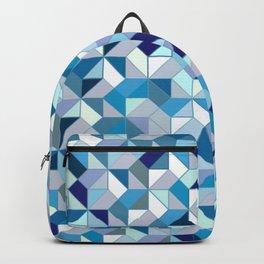 Geometrica (blue) Backpack