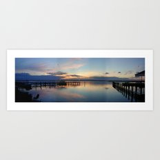 PERFECTSUNSET2 Art Print