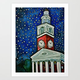 Ira Allen Chapel Art Print