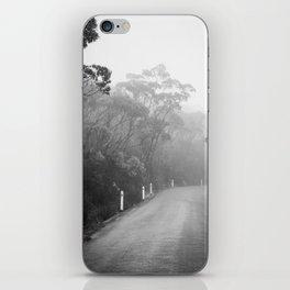 Mount Wellington Misty Road iPhone Skin