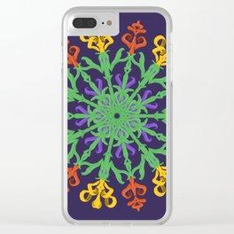"""Chega de Saudade"" (Ultravioleta) Clear iPhone Case"