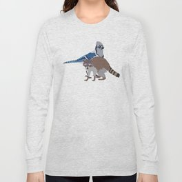 Mordecai and Rigby Long Sleeve T-shirt