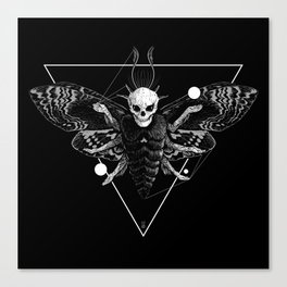 God Moth Canvas Print
