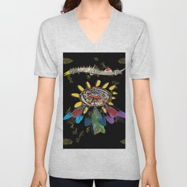dream catchers dreaming Unisex V-Neck
