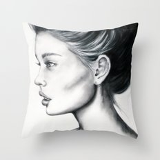 Grace- Full View Throw Pillow