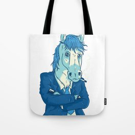 Cool Business Horse Tote Bag