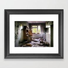 Chernobyl - номер Framed Art Print