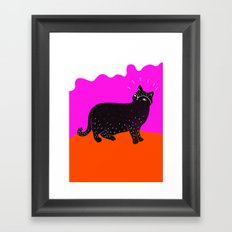 Cat Life 1 Framed Art Print
