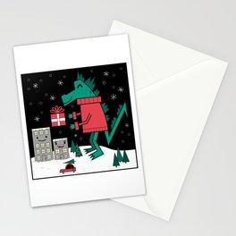 Kaiju Christmas Stationery Cards