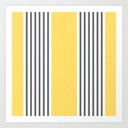 Coogee Stripe Art Print